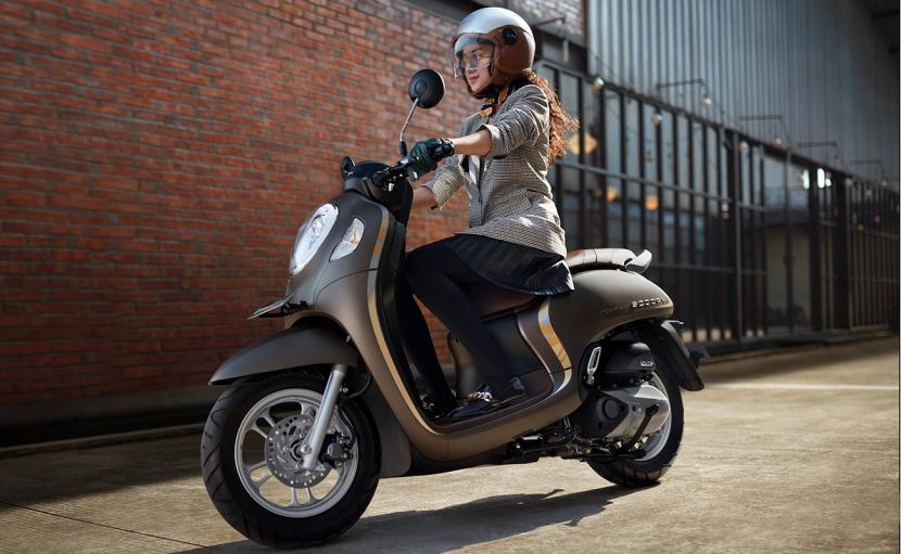 Scoopy Stylish Brown 2020