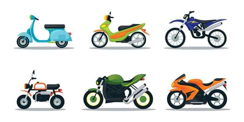 Jenis jenis motor di Indonesia