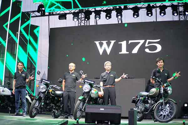 Launching Kawasaki W175