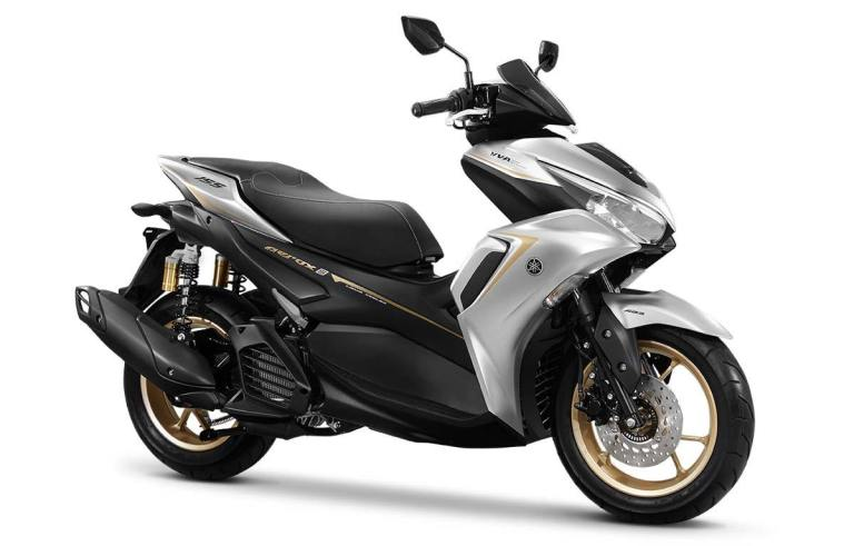 All new yamaha aerox 155 connected abs