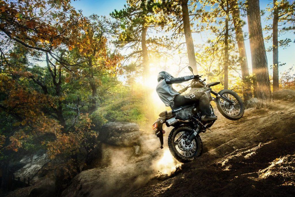 Dirt bike klx 300sm supermoto