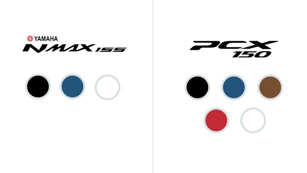 Warna NMAX 2020 vs. Warna PCX 2020