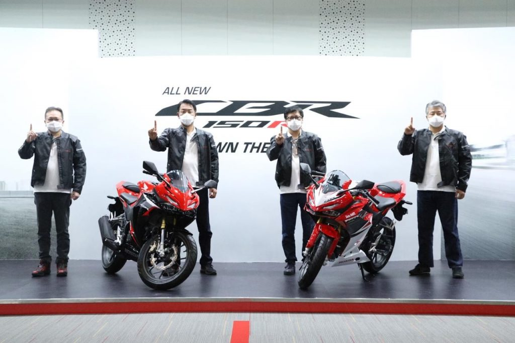 All new honda cbr150r 2021