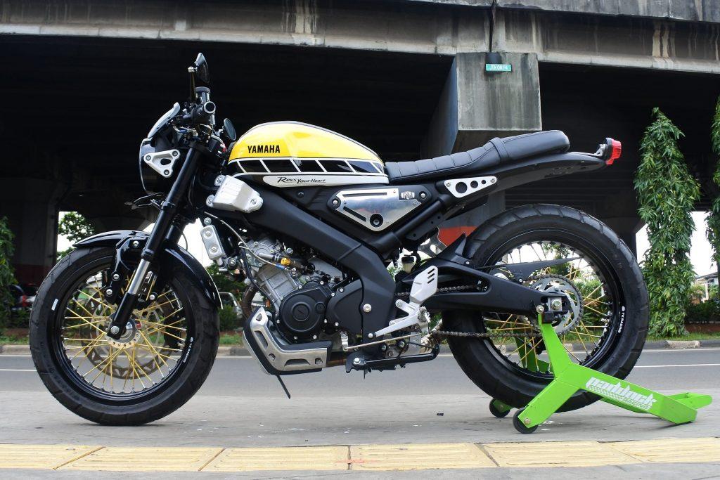 Yamaha XSR 155 Modif Warna
