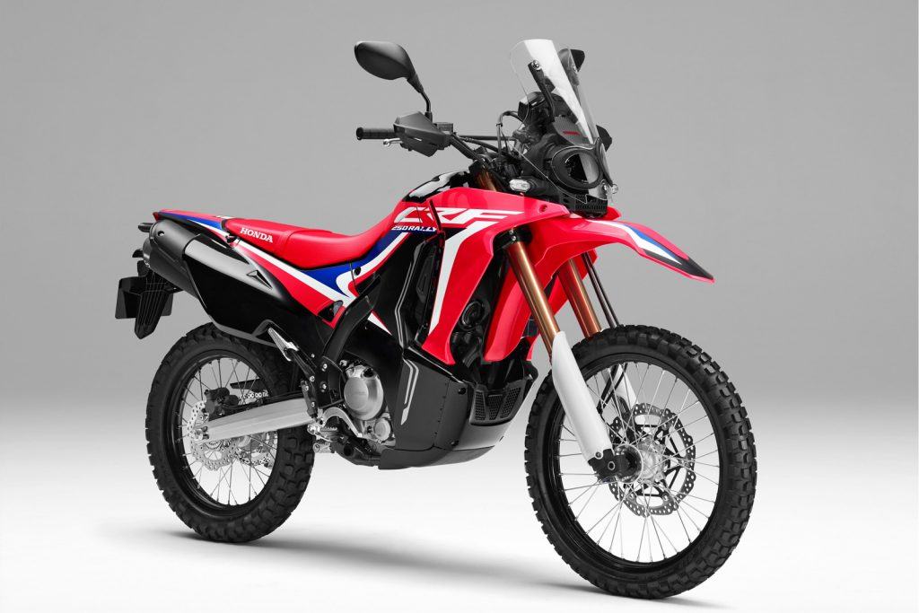 review honda crf 250 rally indonesia