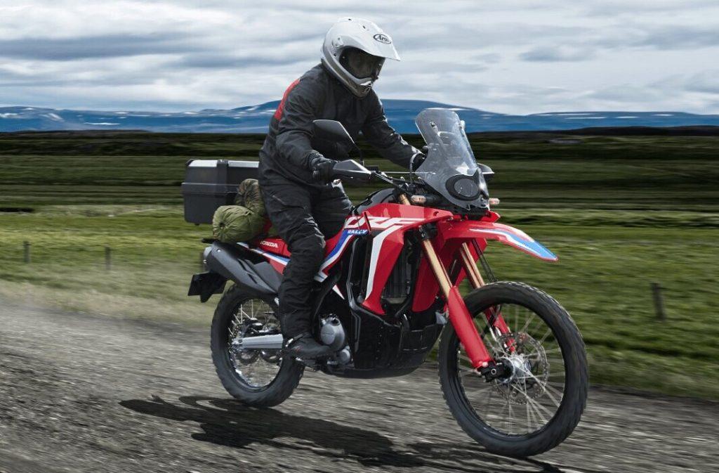 review honda crf 250 rally