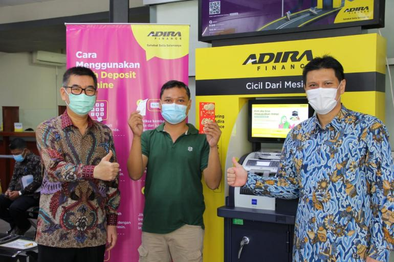 Cash deposit machine adira