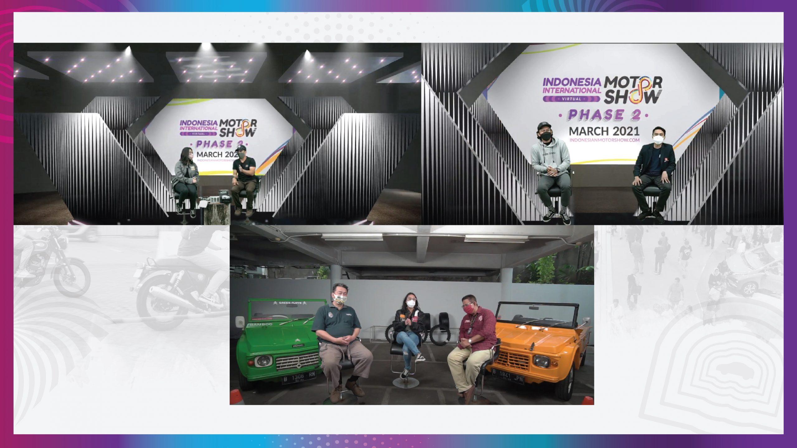 Talk show IIMS 2021