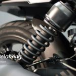 suspensi belakang Keeway V250 FI