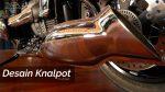 desain knalpot bmw r18 2021