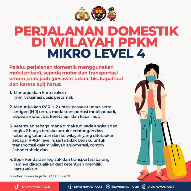 ppkm mikro level 4