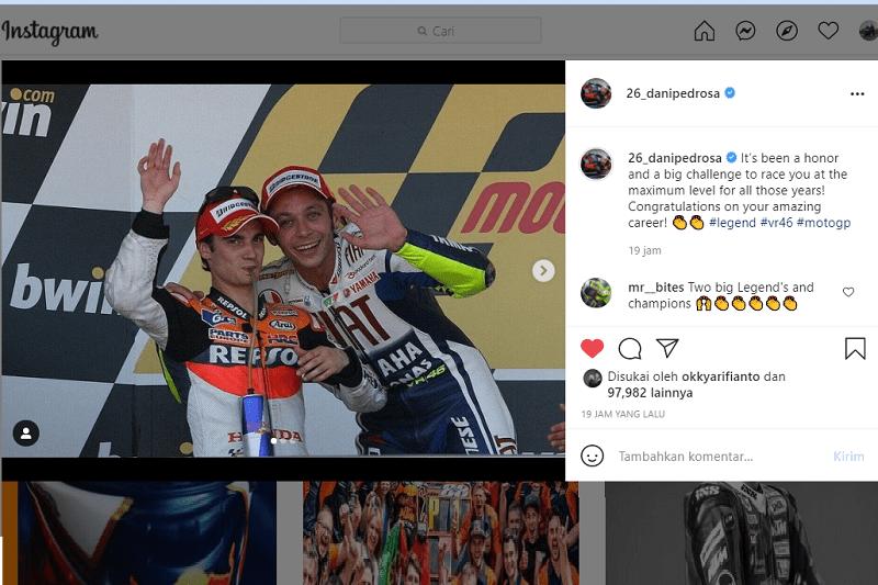 Rossi Pensiun dari MotoGP