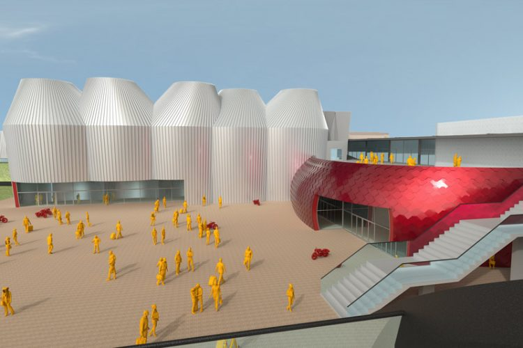museum futuristik